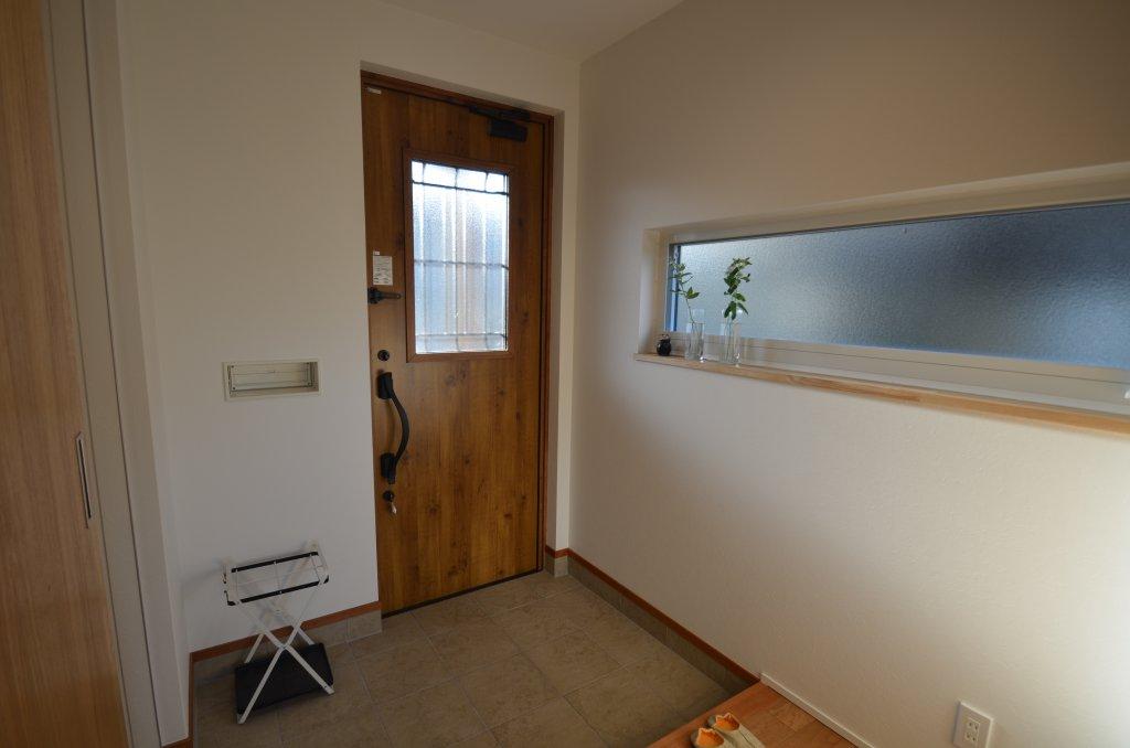 25.5坪のコンパクトプランでもゆったりとした玄関スペース